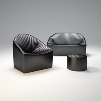 oyster-fauteuil-sofa 3d obj