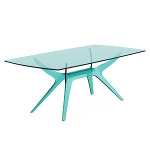 table reflex alce 3d model
