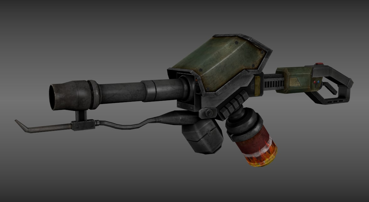 flamethrower flame 3ds