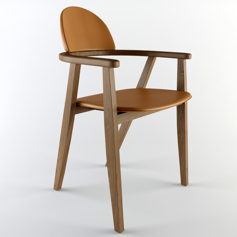 hermes chair 3d max