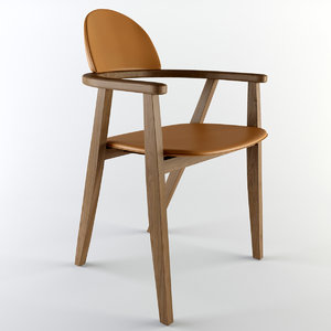 hermes chair 3d max