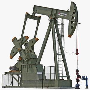 oil pump jack 3ds