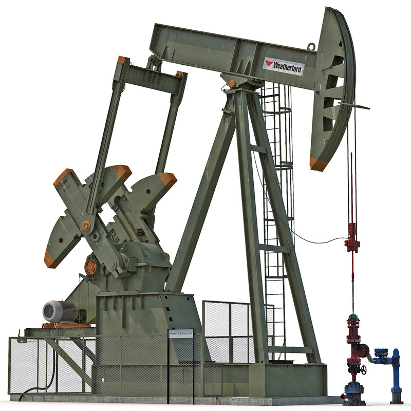 oil pump jack 3ds