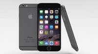 obj apple iphone 6 space