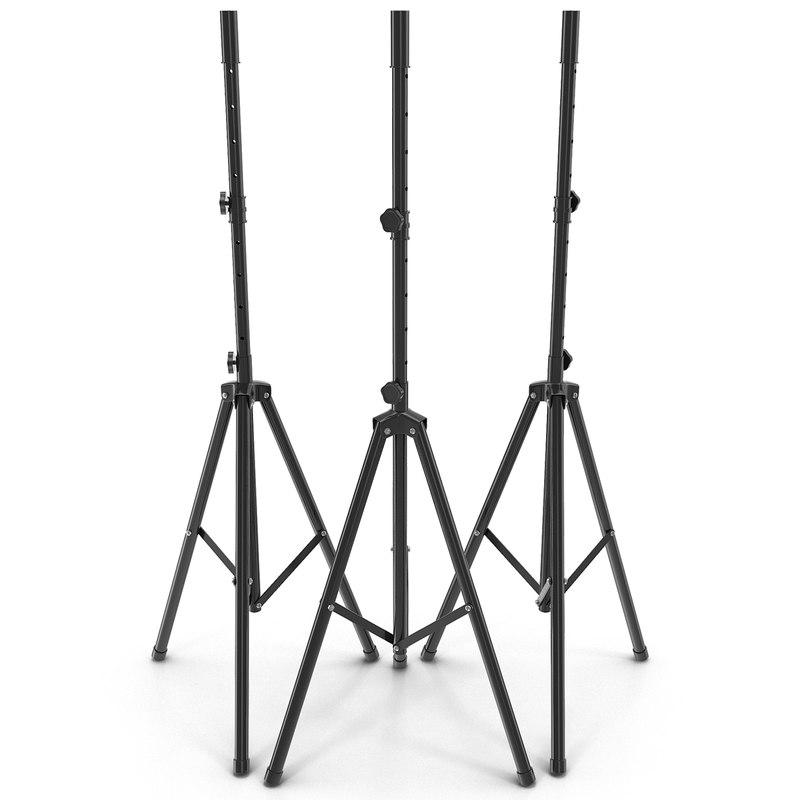 classic speaker stand 3d model