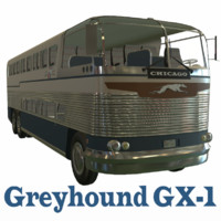 3d loewy greyhound gx-1 model