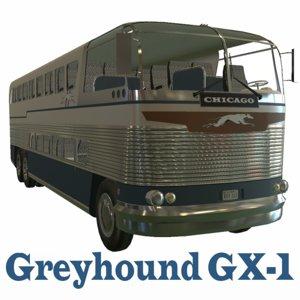 3d loewy greyhound gx-1 model