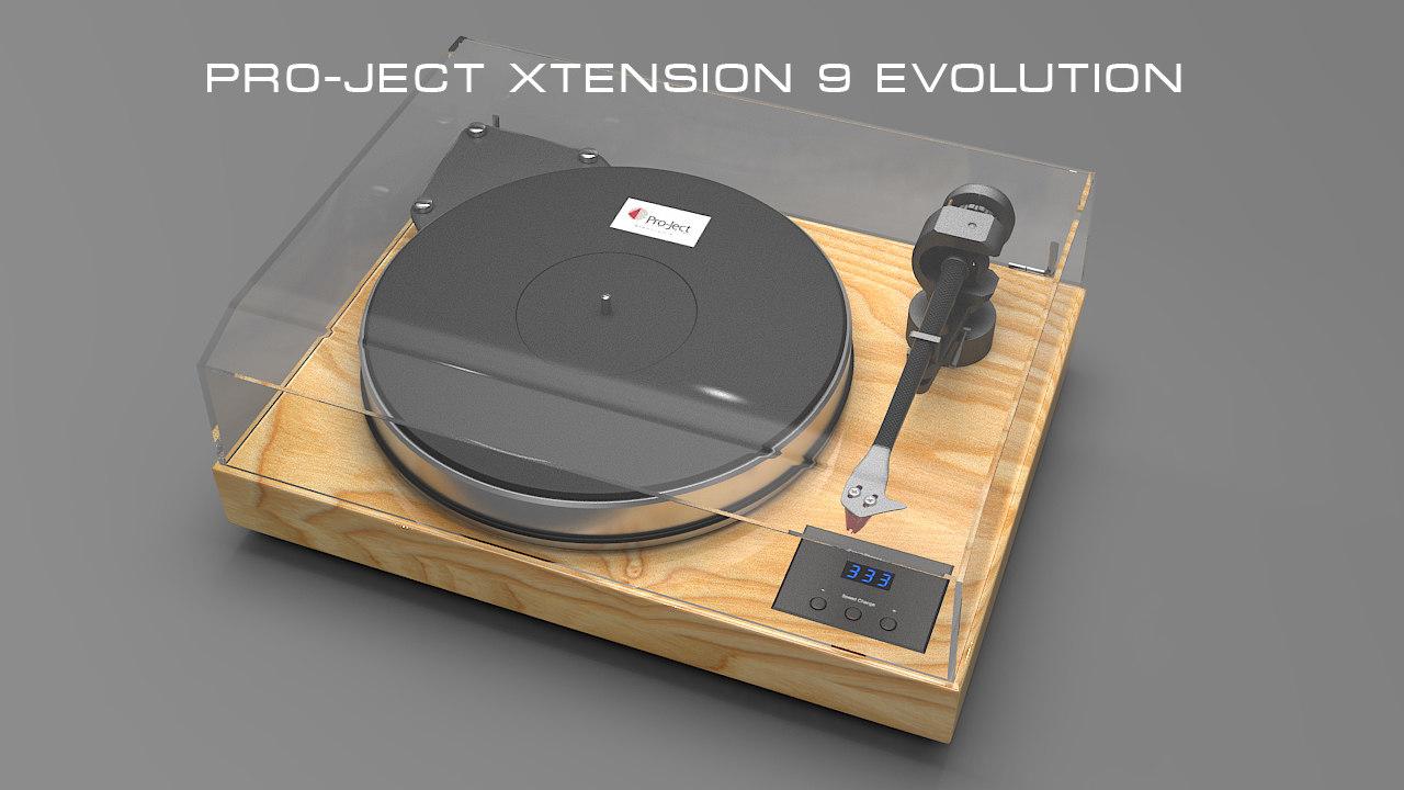 pro-ject xtension 9 3d max