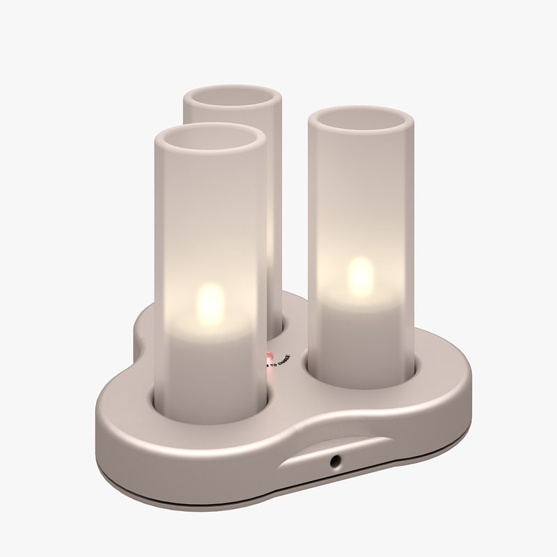 philips electronic candle 3d max