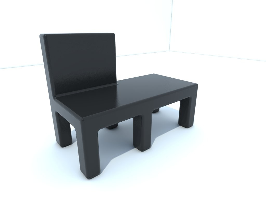 chair table 3ds