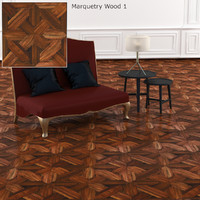 Marquetry Wood Texture
