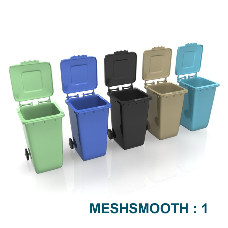 container garbage 3d model