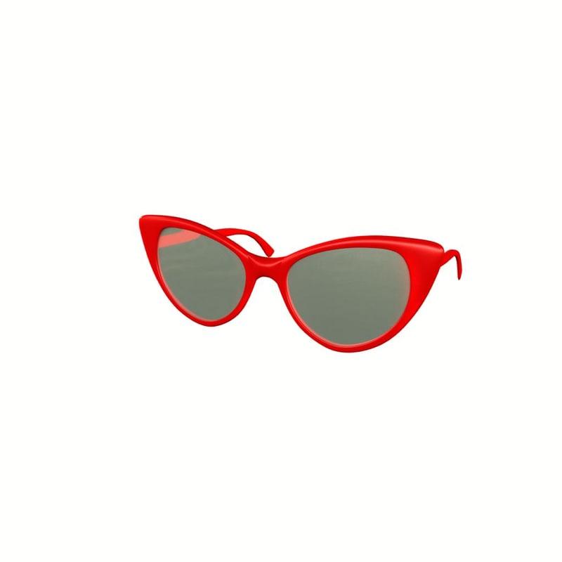 pair glasses 3d model