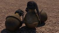 grenade great 3d max