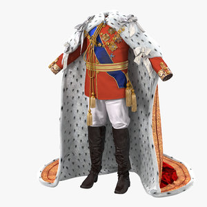3d royal king costume 2