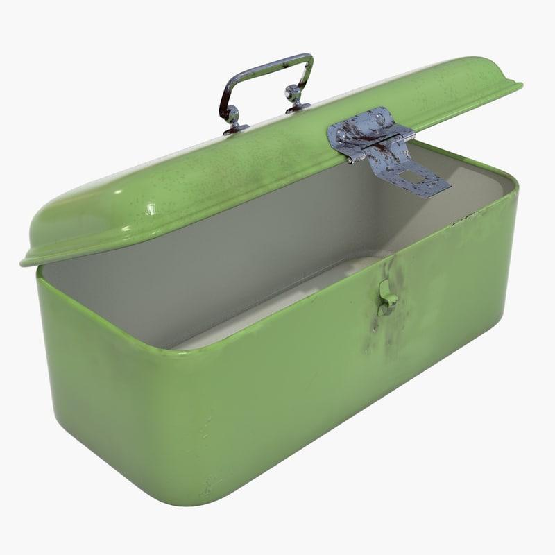 small lunchbox box 3d model
