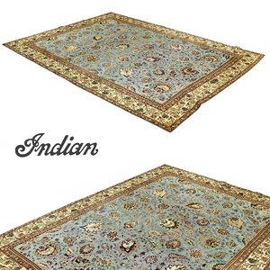 amritsar rug 3d obj