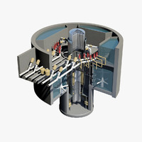 Nuclear Reactor - Cutaway