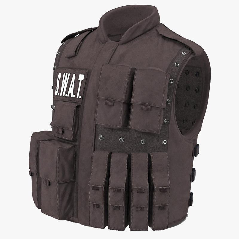 3d swat vest