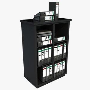 office filing unit 3d model