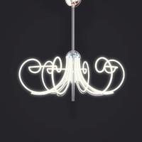 lamp angelica l alt 3d dxf