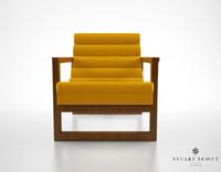 3dsmax stuart scott florence easy chair