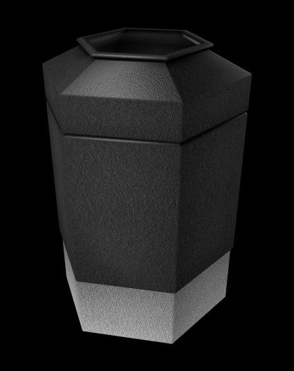 trash cans fbx