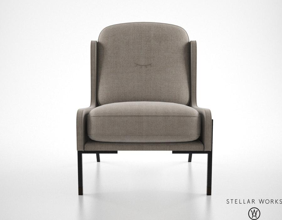 3ds max stellar works blink easy chair