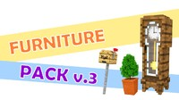 minecraft furniture pack 3d c4d
