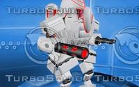 robot war c4d