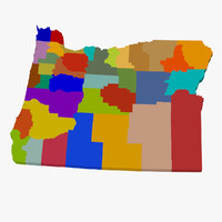 3d counties oregon