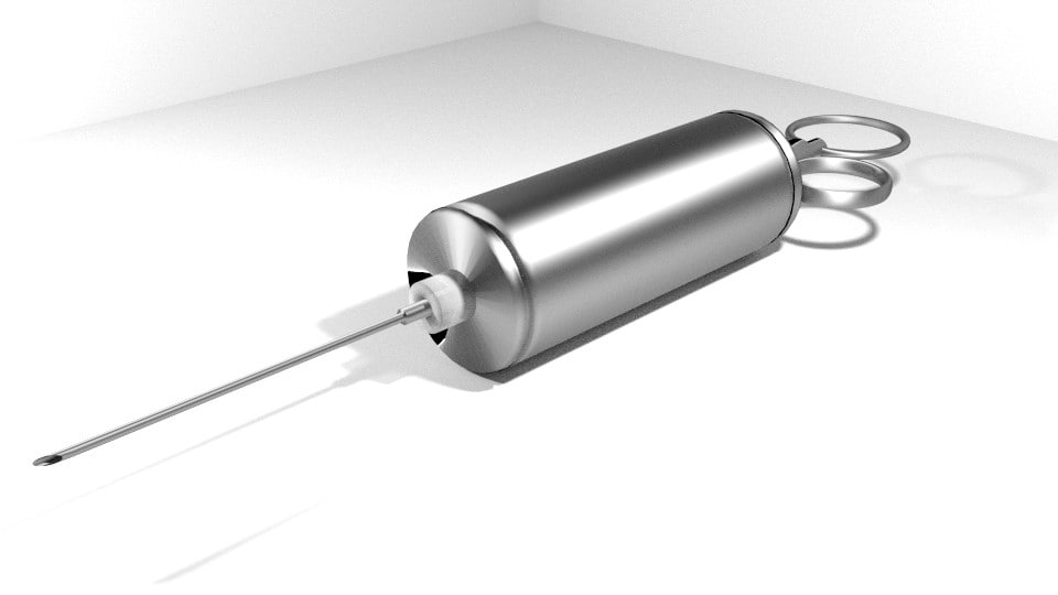 3d syringe medical equipment