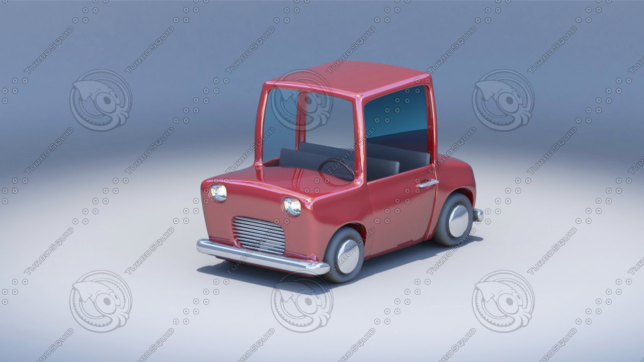 3ds cartoon toy car