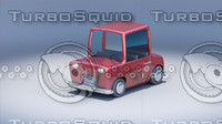 3ds cartoon toy car