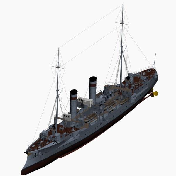3d gazelle class cruiser imperial model