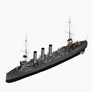 3d kolberg class cruiser imperial
