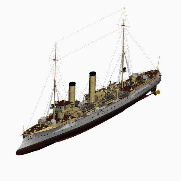 max modified gazelle class cruiser