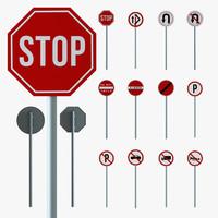Road Traffic Sign - Series 01