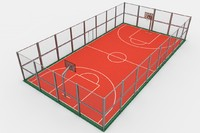 project basketball 3d model