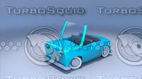 3d cartoon toy car