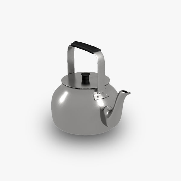 3d model arabic teapot
