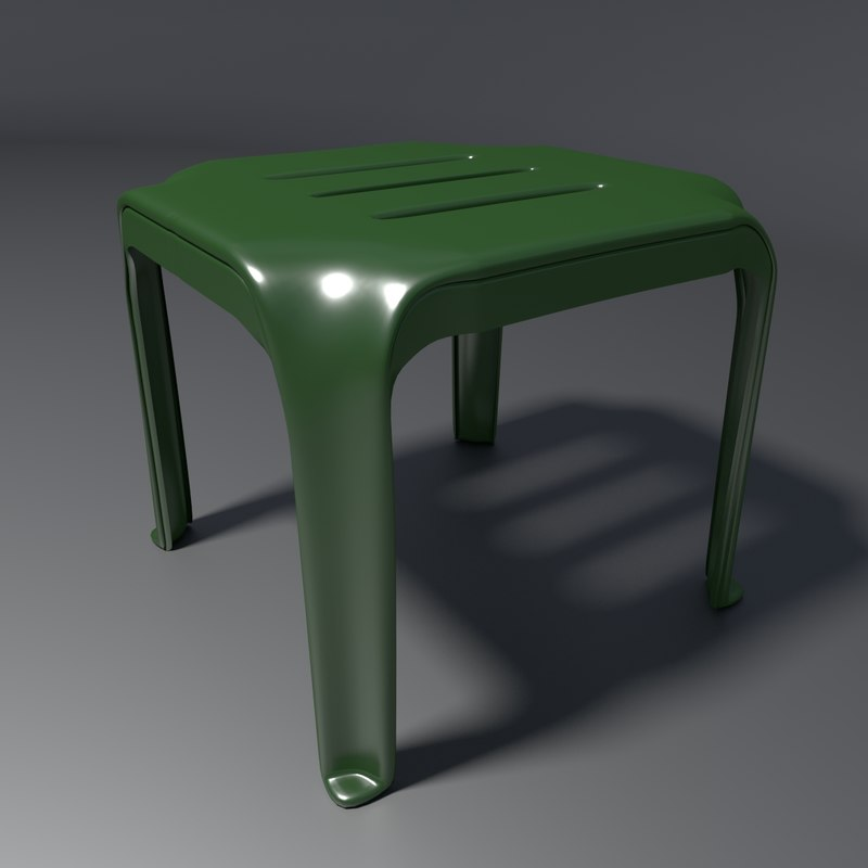 stool 2 3d model
