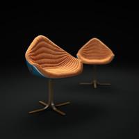 3dsmax flow-armchair