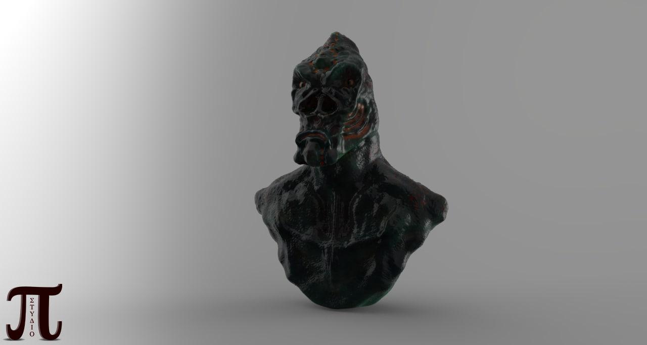 monster alien obj