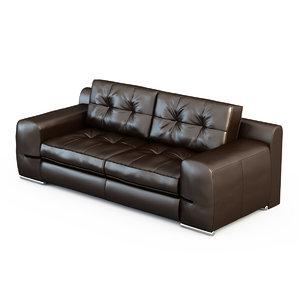 3d sofa fiori-bed 0033