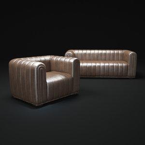 odeon-sofa-3297 3d max