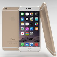 obj apple iphone 6 gold