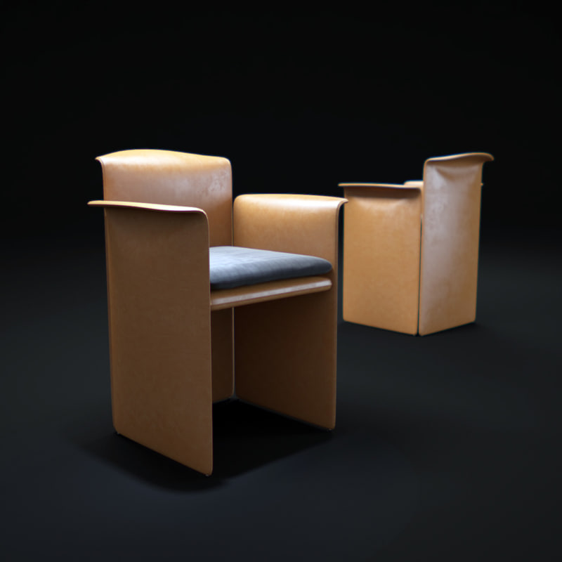 o-chair-by-eponimo 3d model