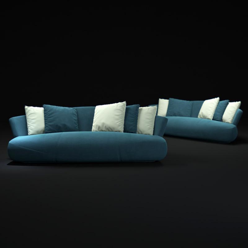 3d solemyidae-sofa model