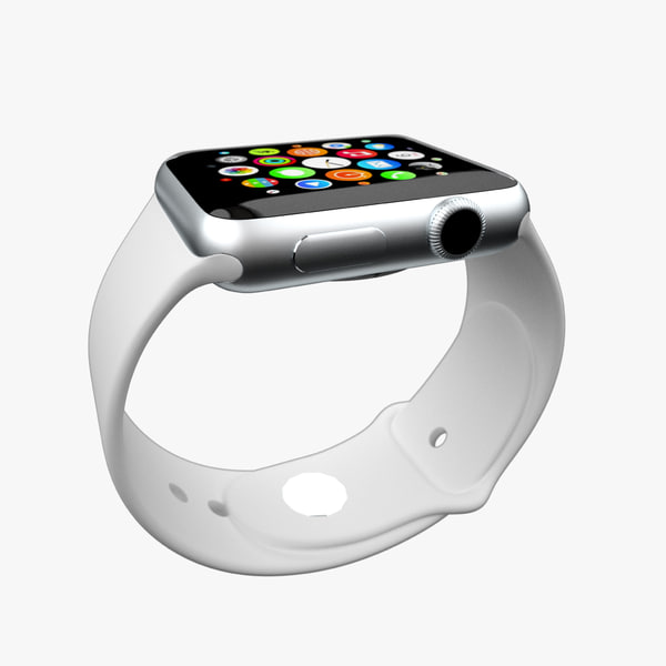 3d model watch apple